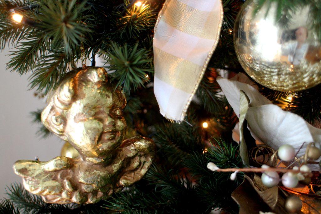 Festive home decor christmas tree