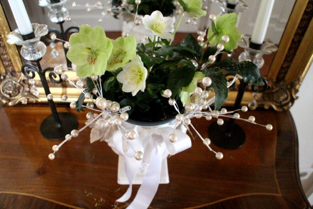 Festive home decor flowers