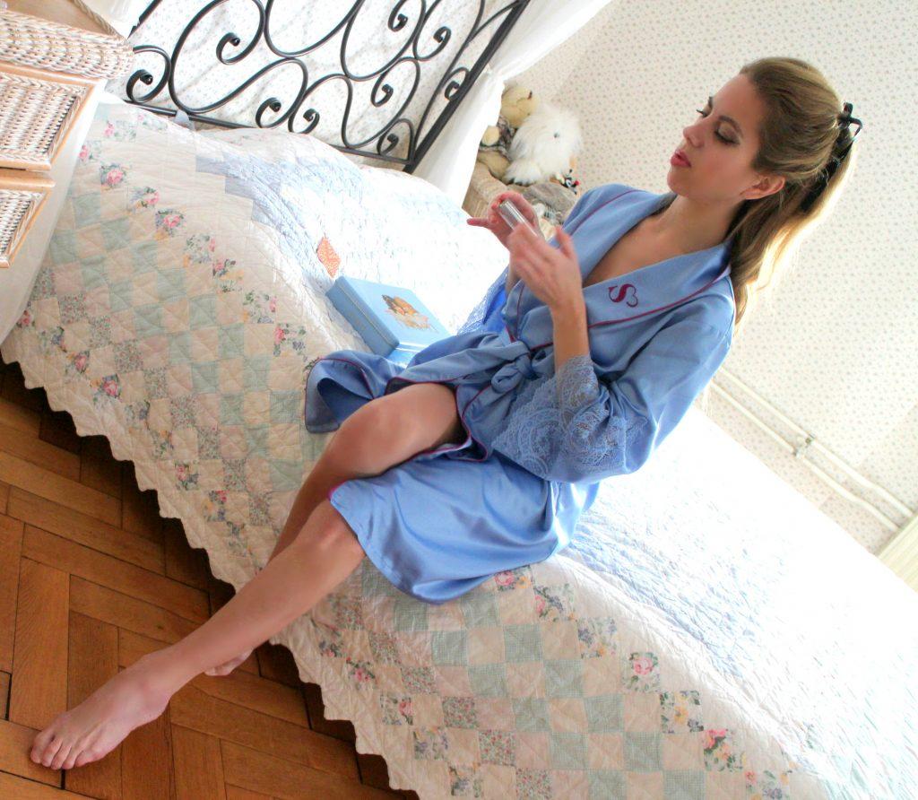 Sylvie designs Flirty lingerie kimono