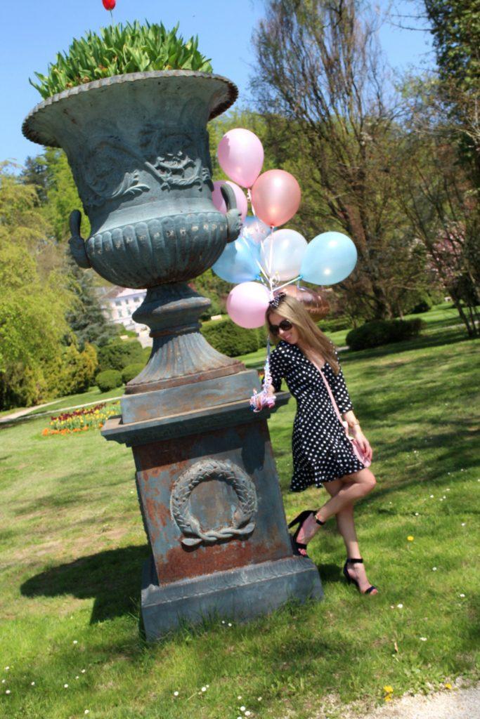 Spring botanical garden statue