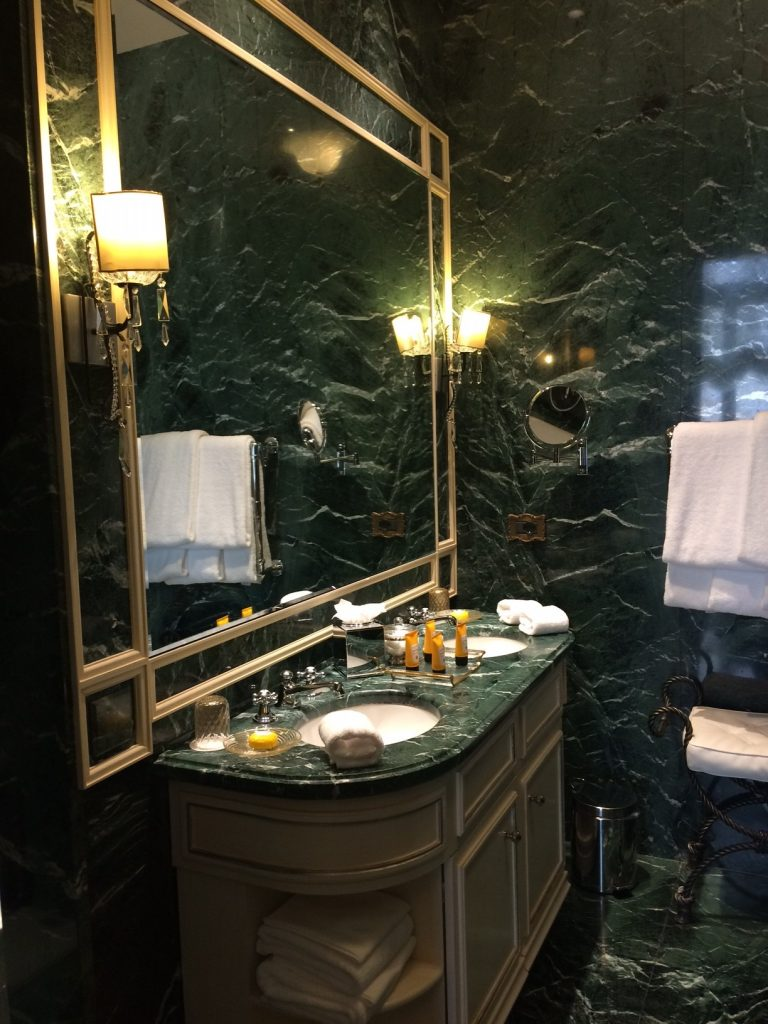 The Gritti palace bathroom