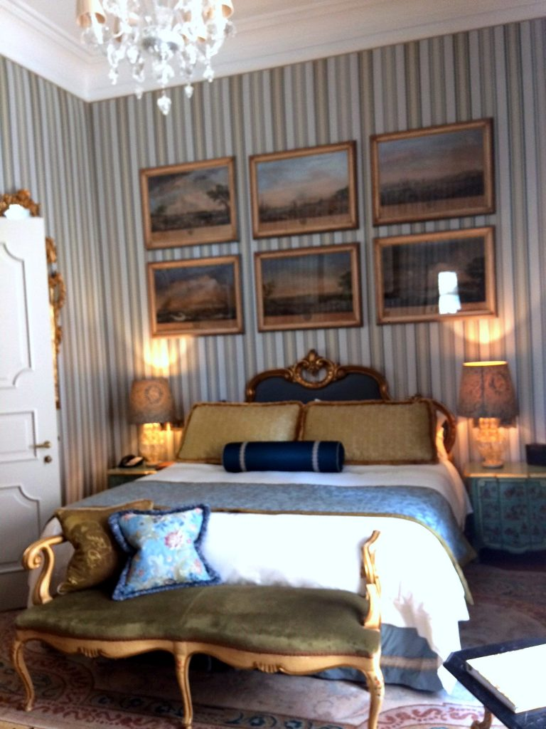 The Gritti palace bed