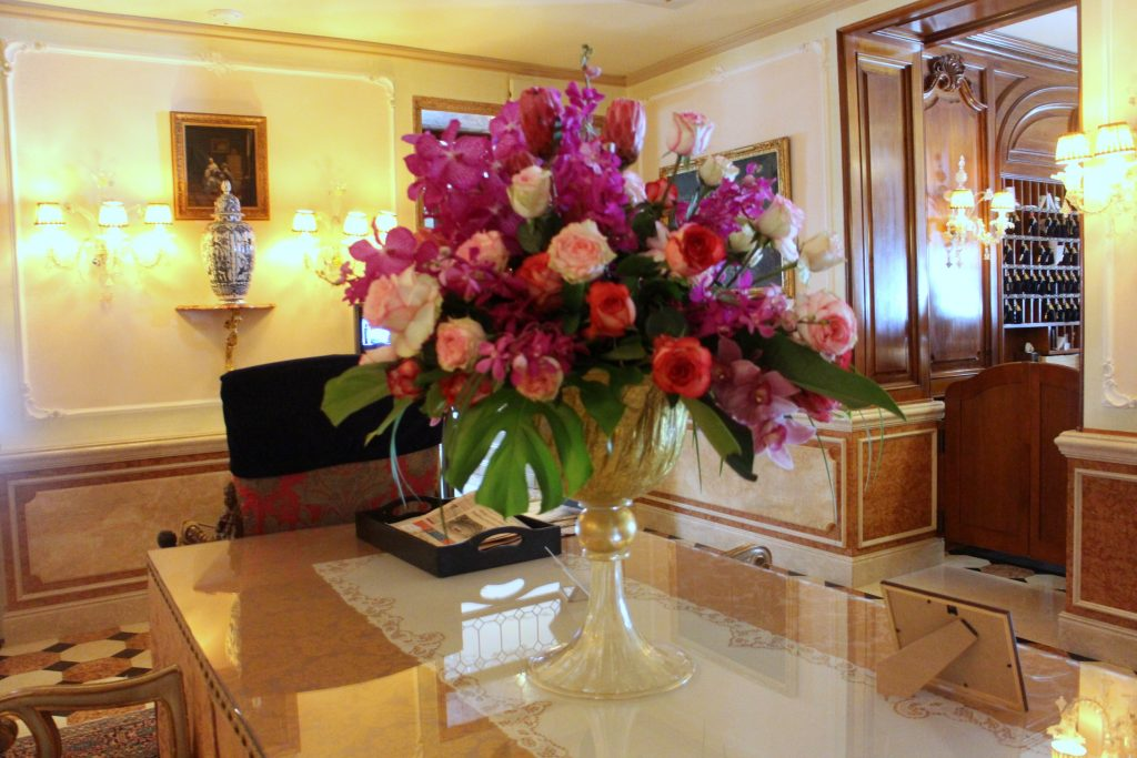 The Gritti palace bouquet