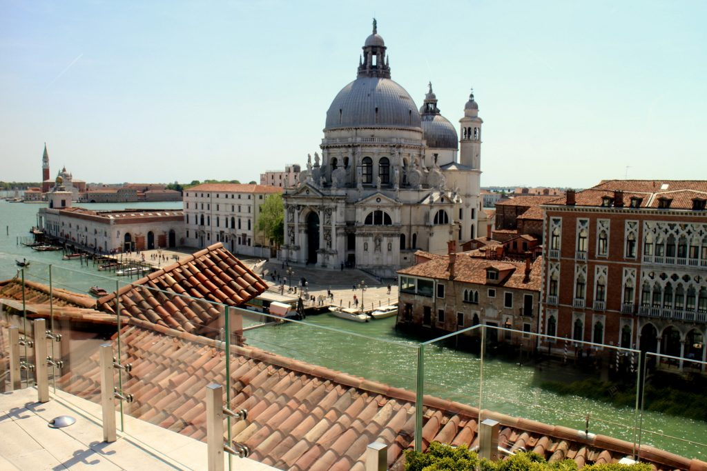 The Gritti palace church view