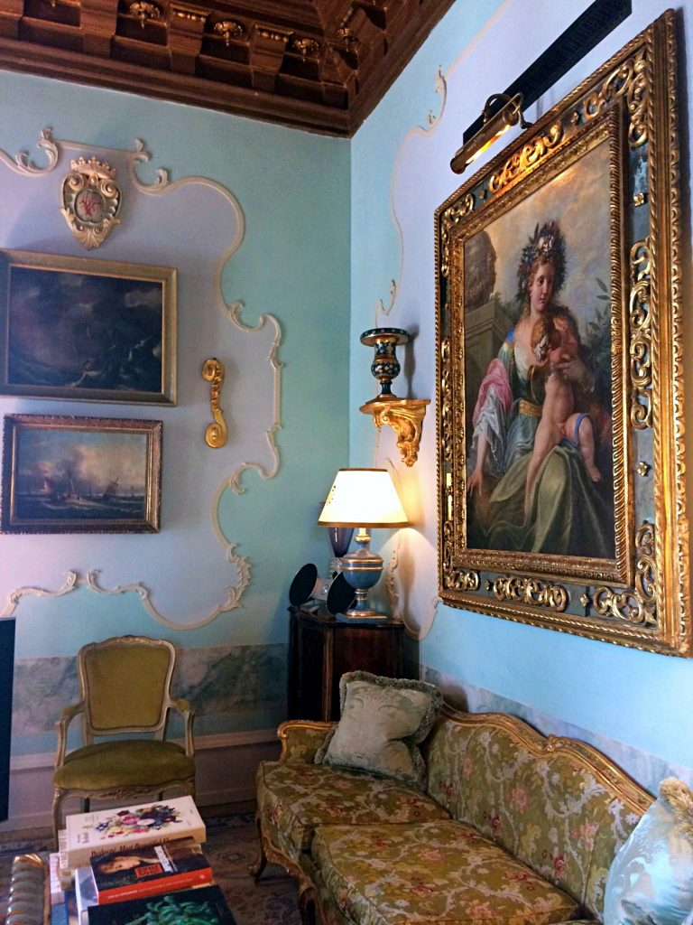 The Gritti palace living room