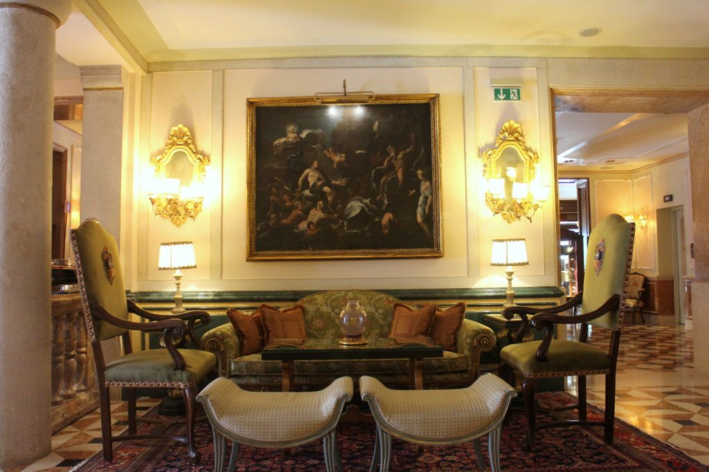 The Gritti palace luxury sofa