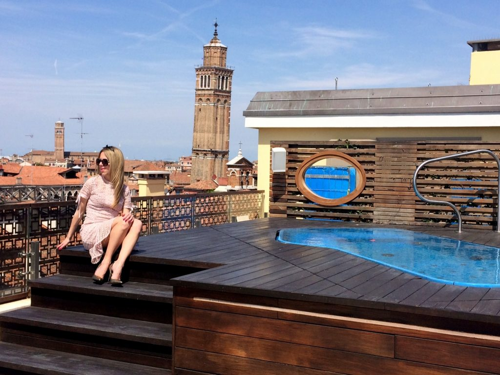 The Gritti palace jacuzzi