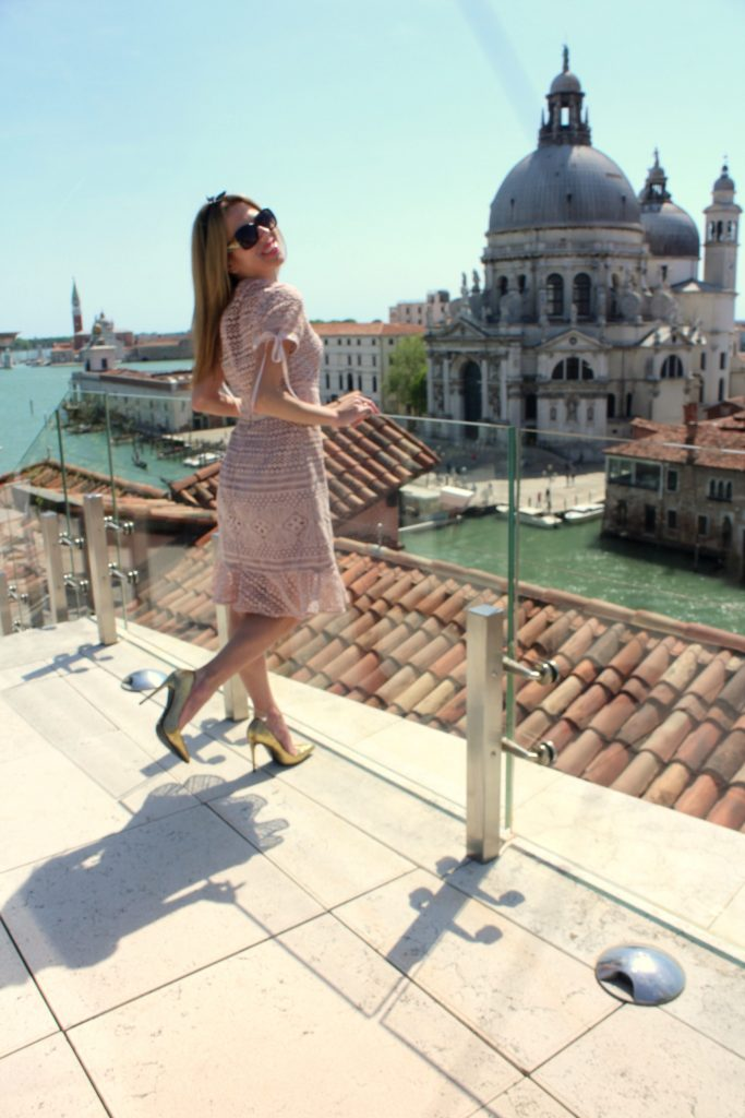 The Gritti palace roof top