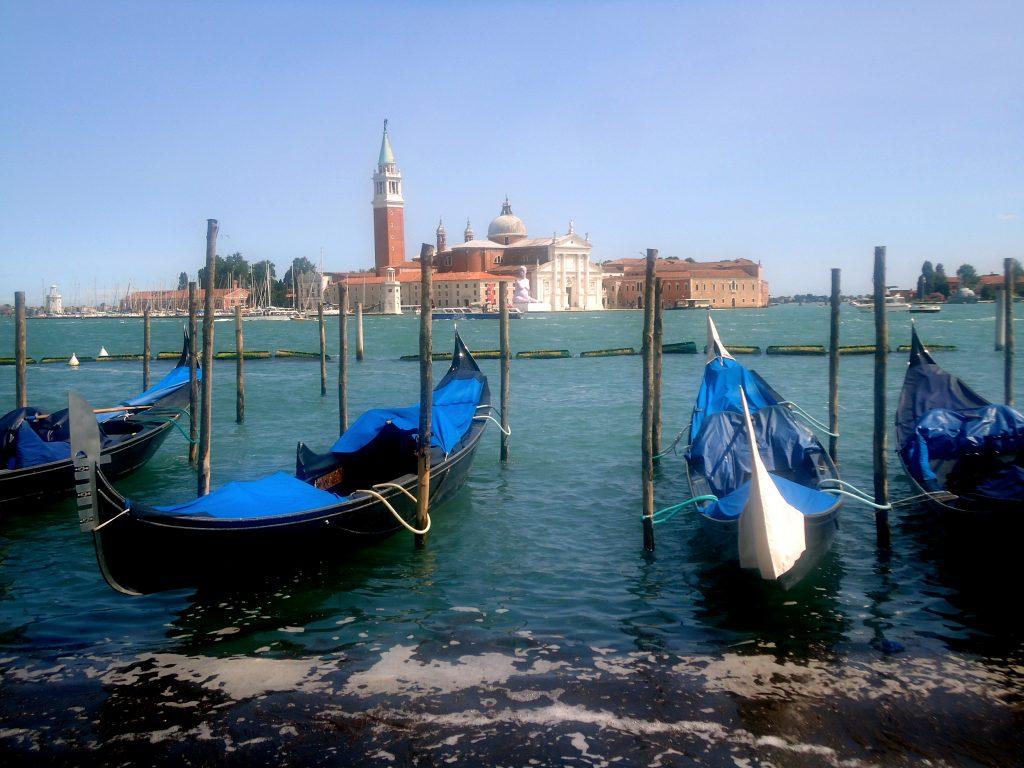 Venice blue sky