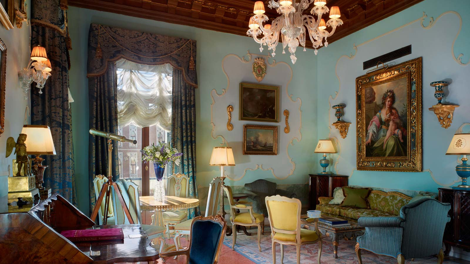The Gritti palace patrons luxury suite
