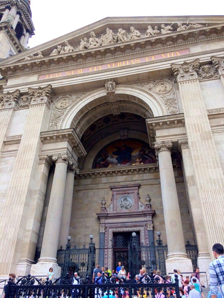 St. Stephen's Basilica doors Budapest