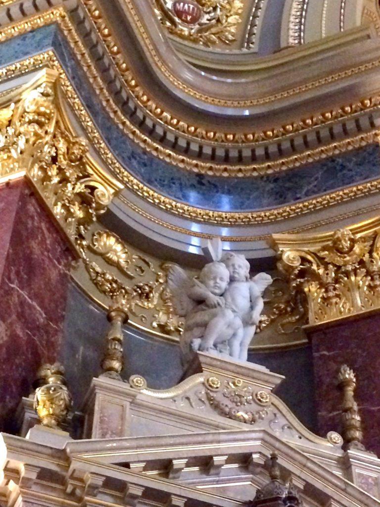 St. Stephen's basilica budapest angels