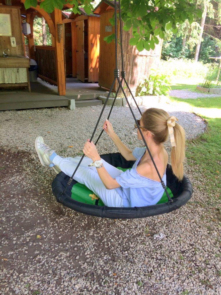 Natura Eco Camp Kranjska Gora swing