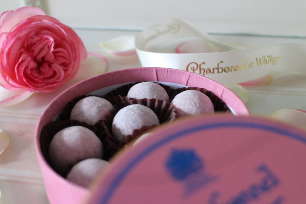 Charbonnel et Walker pink box