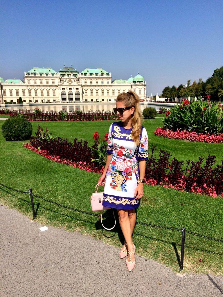 Palace Belvedere Vienna Garden Me