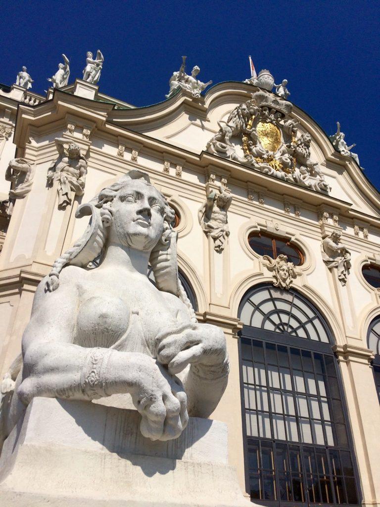 Palace Belvedere Vienna architecture