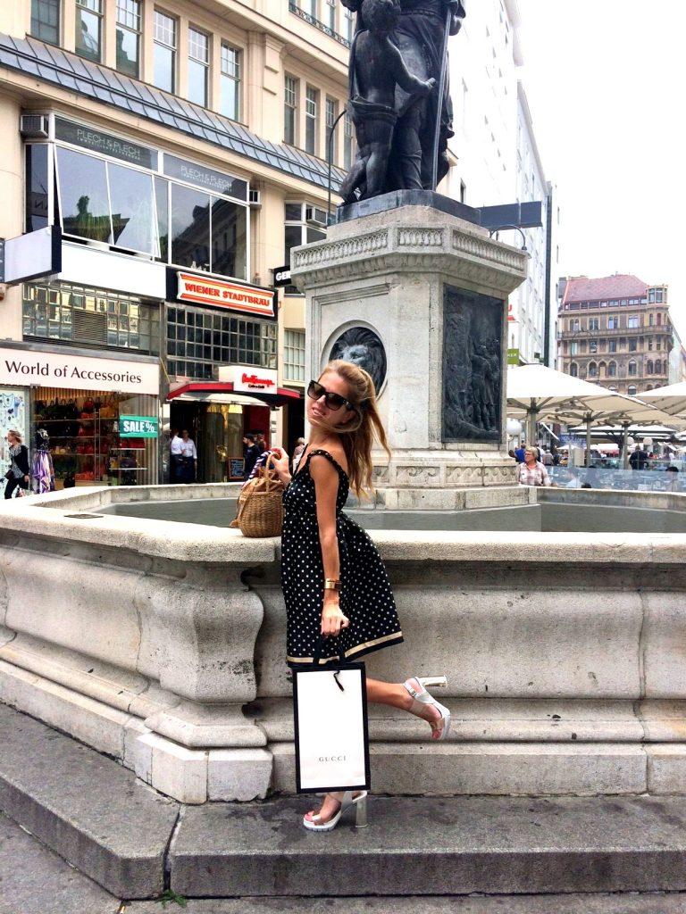 Gucci dress Vienna