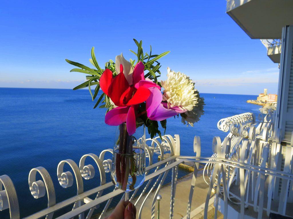 Hotel Piran balcony sea view