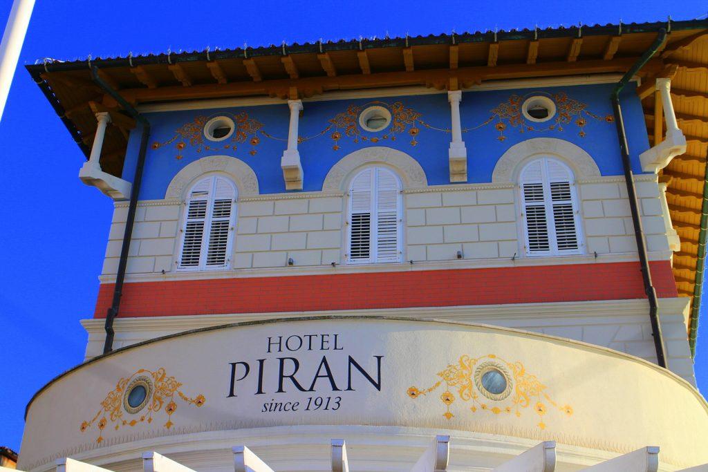 Hotel Piran architecture