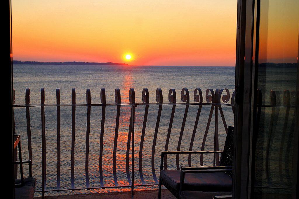 Hotel Piran sunset