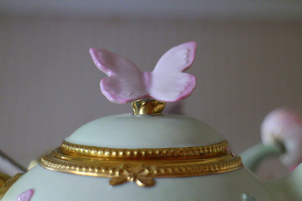 Villari butterfly detail