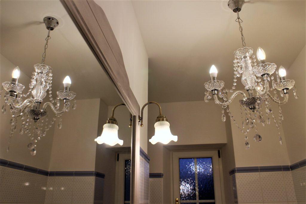 Villari chrystal chandelier